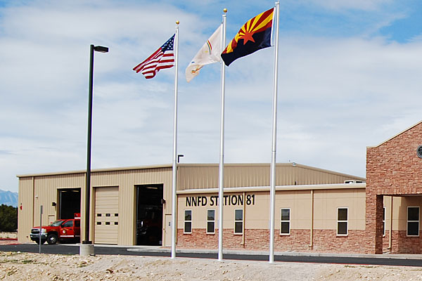 Twin Arrows Police and Fire Station, AZ